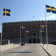Kungliga Slottet in Stockholm, Storstockholm - nearby is the oldest square in Stockholm