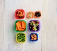 This pack of seven portion control containers is perfect for helping you quickly measure out your snacks and meals. | 13 Products That Make Meal Prepping So Much Easier