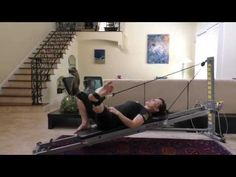 Total Gym Leg Pulley Exercises - YouTube