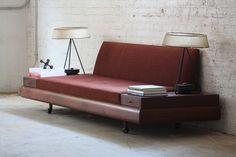 Adrian Pearsall Mid Century Modern Platform Sofa Model 1709-S for Craft Associates