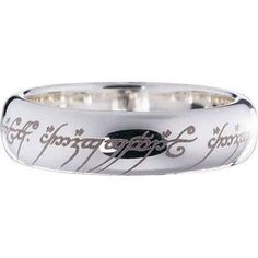 one of my favorite discoveries at hobbitshopcom the lord of the rings sterling - The One Ring Wedding Band