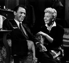Frank Sinatra and Doris Day on the set of Young At Heart / AS1966