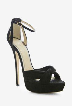 Jimmy Choo Black Shimmer Sandal