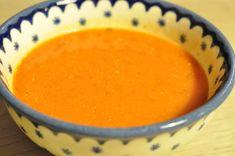 Nem og lækker krydret tomatsuppe med fløde   NOGET I OVNEN HOS BAGENØRDEN Lchf, Soup Recipes, Food And Drink, Pudding, Fruit, Desserts, Soups, Spicy, Blog