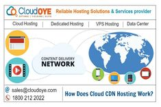 CloudOYE is leading cloud CDN (Content Delivery Network) hosting service provider. Our online Cloud CDN server enhances your website performance across the globe and helps you to improve you revenue. Content Delivery Network, Improve Yourself, Clouds, India, Delhi India, Cloud, Indian