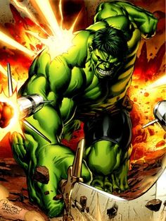 The Incredible Hulk by Carlo Pagulayan *