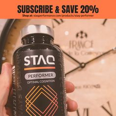 We want to make your life a little easier. You just schedule when you want to receive your next bottle of STAQ Performer and you're ready to go! No more worrying about running out of your stock of Performer, we automized it for you. Rhodiola Rosea, Flow State, Lemon Balm, Schedule, The Balm, Running, Bottle, Life, Timeline