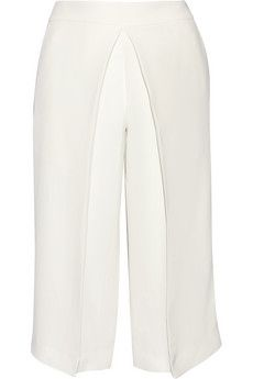 Joseph Billy pleated washed-silk culottes | THE OUTNET