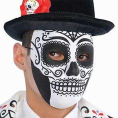 Decorazione Halloween Cranio Paillettato Questa