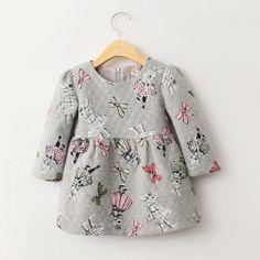 Bun-bun Gray Rabbit Dress