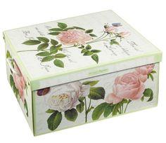 Geschenkkarton, Rose