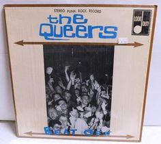 c4c53a74 The Queers Beat Off - Vintage Vinyl Record Album PUNK 1994 Original Lookout  LK81 Shrink EXC/EXC