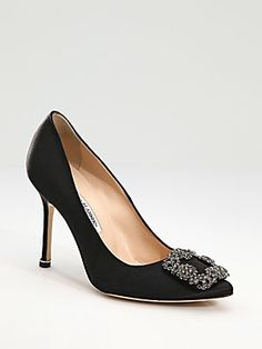 Manolo+Blahnik Hangisi+Jewel+Satin+Pumps these come in 9 colors and i love them all!!!!