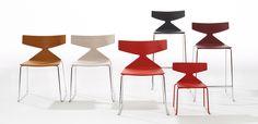 Italian chair Saya by Arper, design Lievore Altherr Molina
