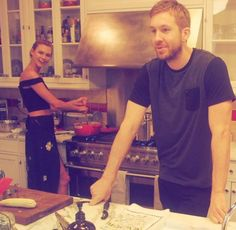 We're having flashbacks to that picture of Calvin that Taylor posted on Karlie's birthday last year.