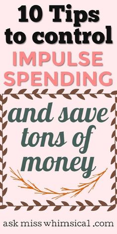 Stop spending money on things you don't need using these failproof ways to save money fast. Stop Impulse buying! Yes, you can achieve financial freedom and meet your budget by paying attention to your spending habits and using these frugal living tips. #savemoney #millennial #savingmoney #personalfinance #moneyaffirmations #budgeting #frugal