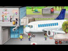 Mein Flughafen - Wunderwimmelbuch iPad iPhone | Beste Kinder Apps