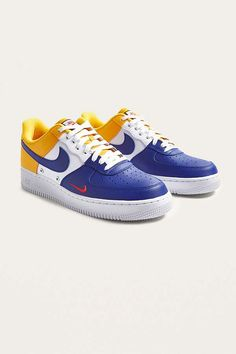 Slide View: 2: Nike Air Force 1 '07 LV8 Trainers