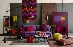 Deep mustard hues and dark shades of red like berry are on trend this season when it comes to decorating. There are several ways to use these two striking colors...