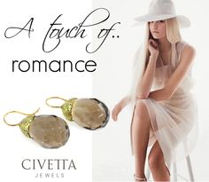 A cream white outfit made precious by a glimpse of gold and #quartz. You can find it only on http://www.civettajewels.it/store/it/home/67-orecchini-in-argento-con-quarzi-color-cognac-.html
