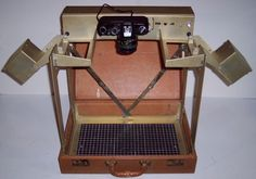U.S. Copy Camera Outfit in Attache Case - 1970's