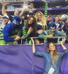 The Best Celebrity Instagrams from the 2015 Super Bowl #InStyle