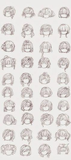 Die 77 Besten Bilder Von Haare Zeichnen Haare Zeichnen Anime