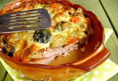 Tavaszi rakottas Oven Chicken Recipes, Meat Recipes, Healthy Recipes, Healthy Food, Main Dishes, Side Dishes, Hungarian Recipes, Lasagna, Kids Meals