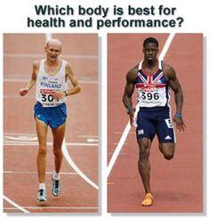 Marathoner vs. Sprinter #fitness
