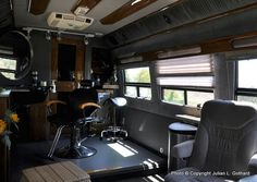 This is an elegant mobile salon!!