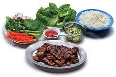 Bulgogi (Korean grilled beef lettuce wraps) recipe