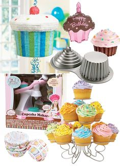 Cupcake theme?  LOVE IT!