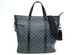 Louis #Vuitton Tadao Tote Bag Damier Graphite N51192(BF064471). eLADY global accepts returns within 14 days, no matter what the reason! For more pre-owned luxury brand items, visit http://global.elady.com