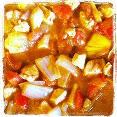 Chicken Tikka Masala with Pineapple