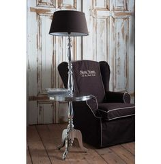 339 Euros Winston Winetable W/Lamp  Rivièra Maison Perfect for between two reading chairs in office!