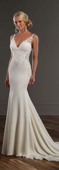 100 Open Back Wedding Dresses with Beautiful Details | Wedding dress ...