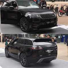 The Range Rover Velar on display at Canary Wharf in London. The Range Rover Velar on display at Canary Wharf in London. Range Rover Car, Range Rover Evoque, My Dream Car, Dream Cars, Luxury Suv, Luxury Vehicle, Jaguar Land Rover, New Sports Cars, Car Goals