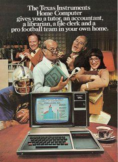 Texas Instruments Ad.
