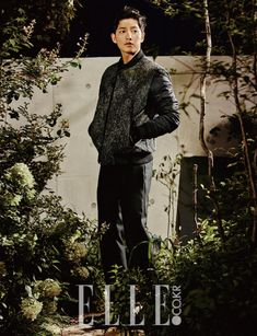 Song Joong Ki - Elle Magazine October Issue '15
