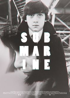 "Fan Poster for the Film ""Submarine"" - Fonts In Use"