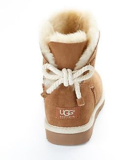 UGG Australia Selene Tie Back Booties
