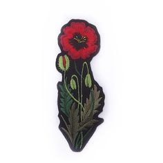 Poppy Patch || Ellie Mac Embroidery Ellie And Mac, Interior Design Boards, Fabric Manipulation, Diy Clothes, New Outfits, Poppies, Disney Characters, Fictional Characters, Patches
