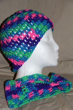 Unisex crochet yarn beanie cap head hugger chemo cap beanie cap and headband set #homemade #Beanieandearwamerheadband #pmscrafts74