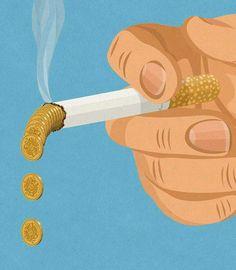 Denaro in fumo