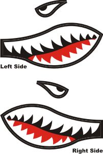 Job Shark Cod Bo3 Cool Paint For Knife Easy This Guy Has Mouth Template