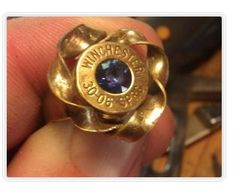 impactaccessories...  Your choice of rifle calibers for these beautiful shell casing rings. Choose you favorite gem or birthstone to put in place of the primer.