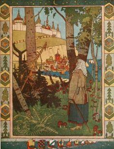 Russian Wonder Tales illustrated by Ivan Bilibin by emmeffe6, via Flickr