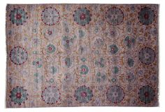 "One Kings Lane - Uncommon Ground - 6'3""x9'2"" Lipa Rug, Lavender"