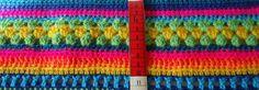 Fragen zur Crochet Along Regenbogen-Babydecke