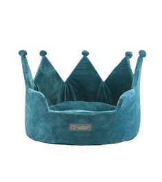 Buy Nandog Crown Small Dog & Cat Bed, Teal at Chewy.com. FREE shipping and the BEST customer service!